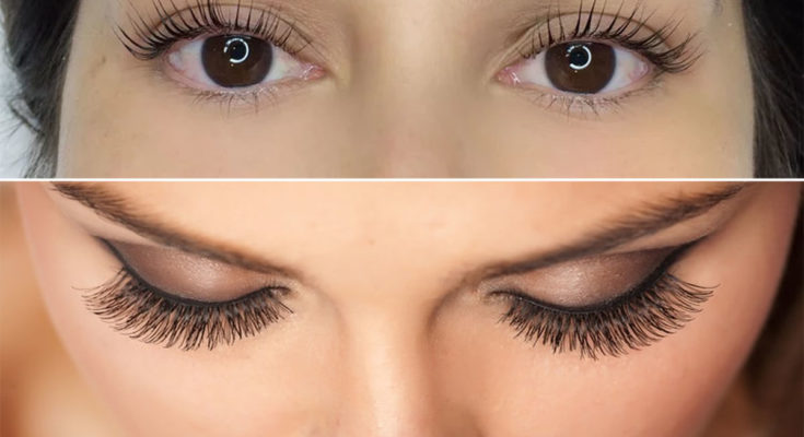 The Difference Between Lash Extensions And False Eyelashes